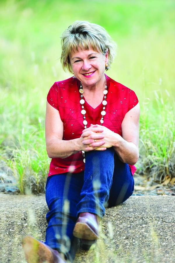 Tanya Heaslip in red